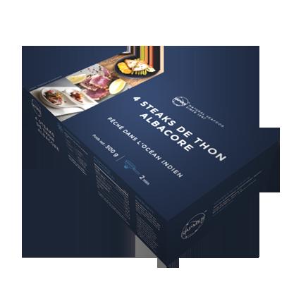 Boite de 4 steak de thon albacore