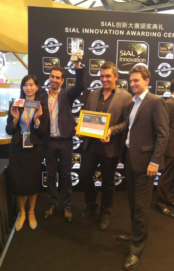 L'équipe SAPMER SIAL CHINE 2017
