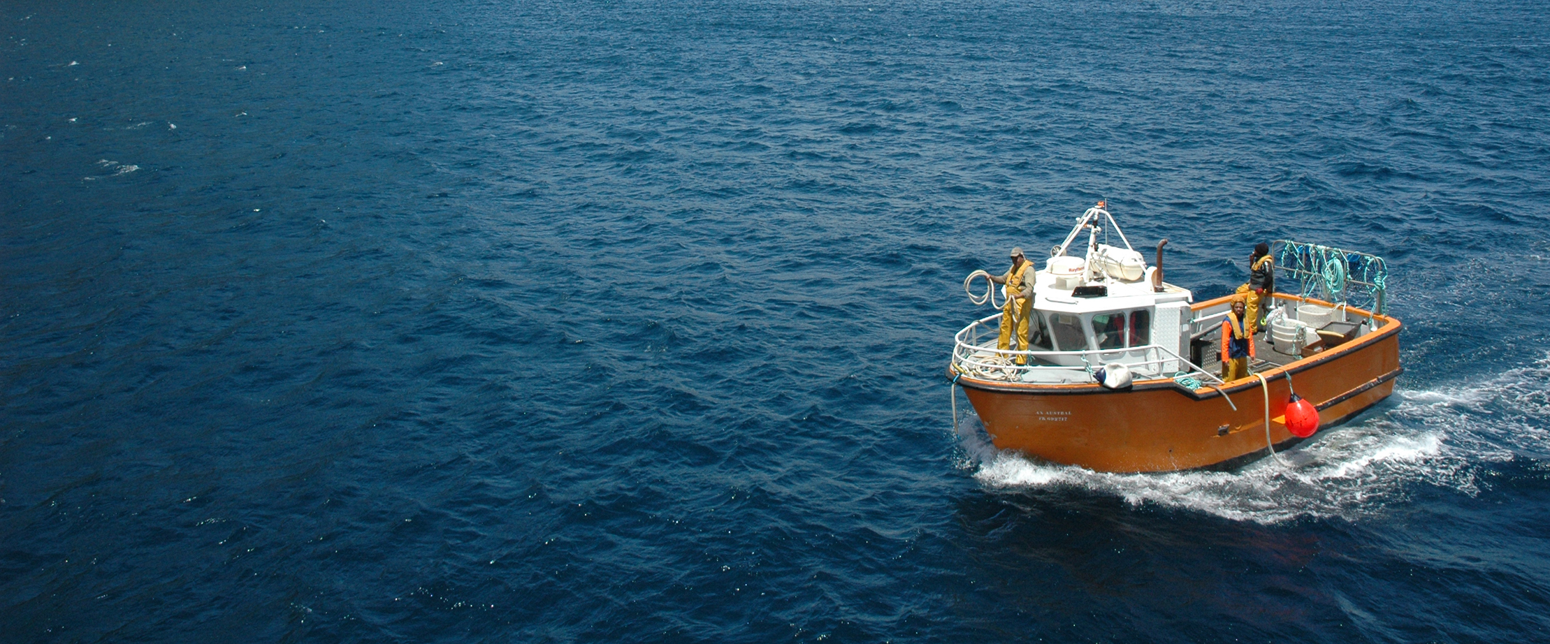 Caseyeur Sapmer pêche langouste australe