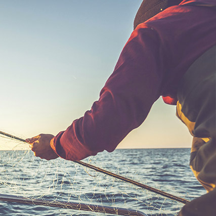 Visuel pêcheur SAPMER