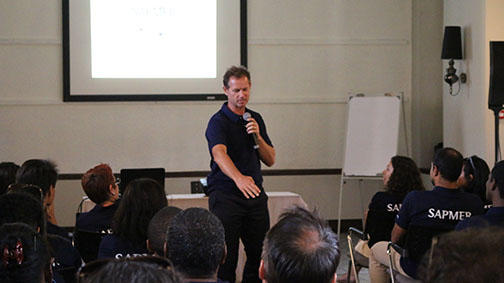 Conférence Edgar Grospiron - Sapmer événement