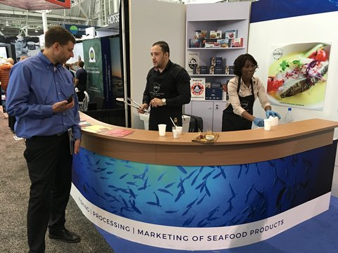 Boston seafood show