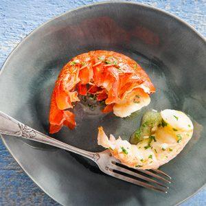 Visuel recette queue de langouste australe persillée SAPMER