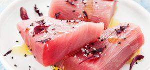 Visuel filet de thon albacore cru en marinade SAPMER