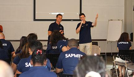 Edgar Grospiron et Adrien de Chomereau - Événement SAPMER