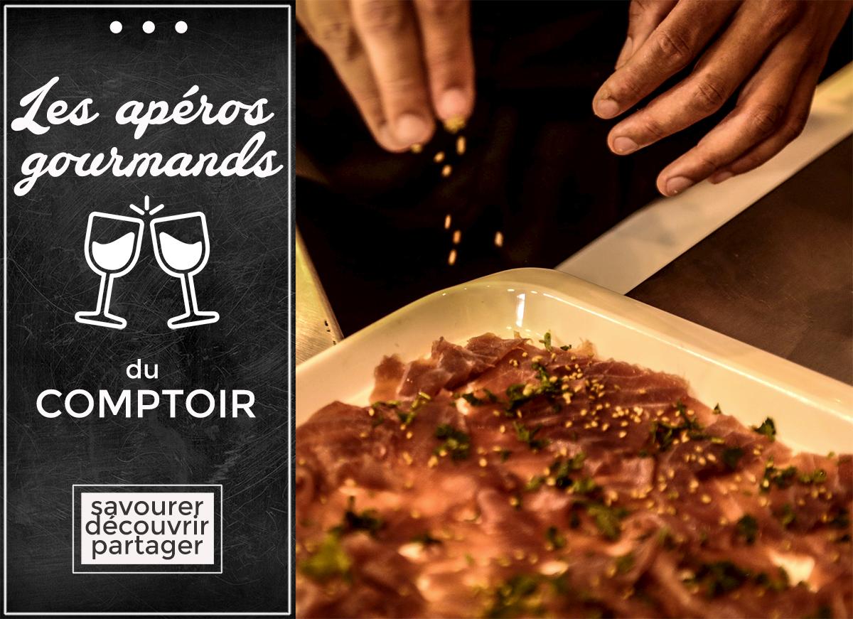 Annonce Apéro Gourmand Comptoir Sapmer 03/2017