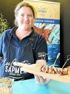 Présentation des produits SAPMER au AG2R à Concarneau par Cécile Hannot