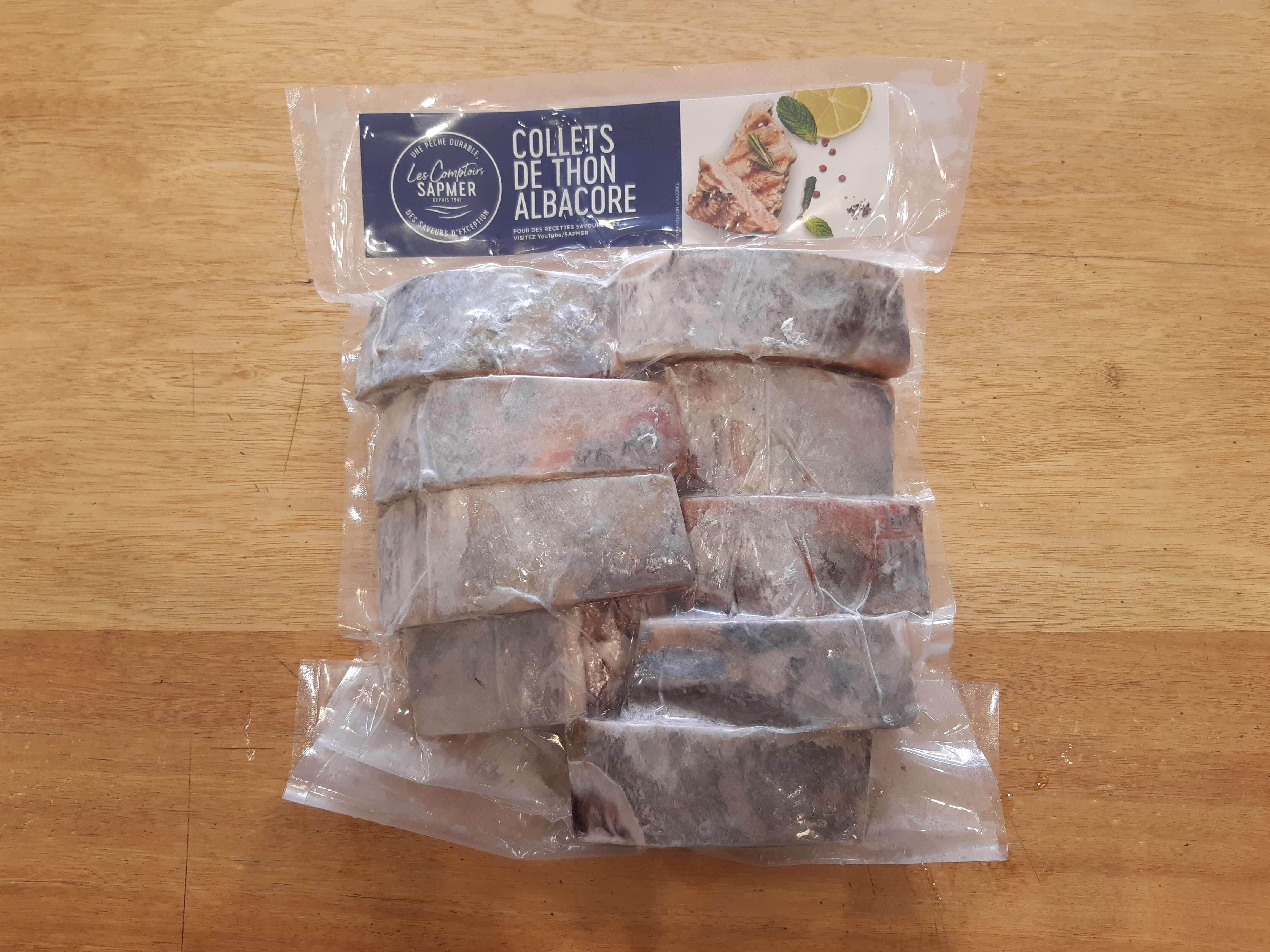Collet de thon albacore - Sachet 1 kg net